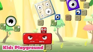 Monsterland. Junior vs Senior Kids Game Play - physics puzzle for all family Oleksandr Mykhailov