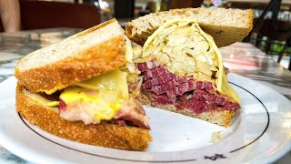 Legendary Reuben Sandwich by experts Monty's Deli London - Food Busker