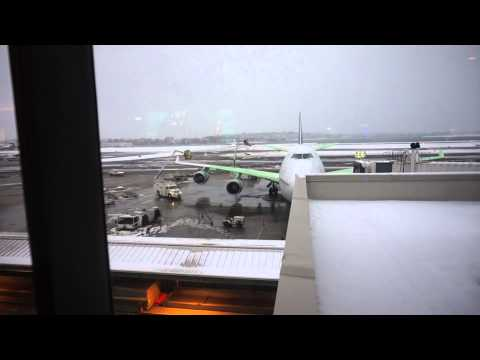 at Boston Logan's International Terminal (E) waiting on our Iceland flight (January 26th, 2015)