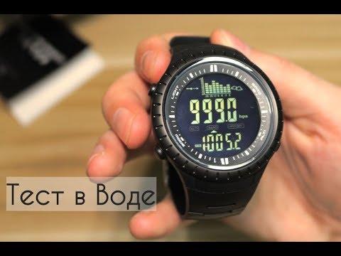 Спортивные Часы на все случаи жизни Spovan SPV709 водонепроницаемые, термометр,барометр,альтиметр