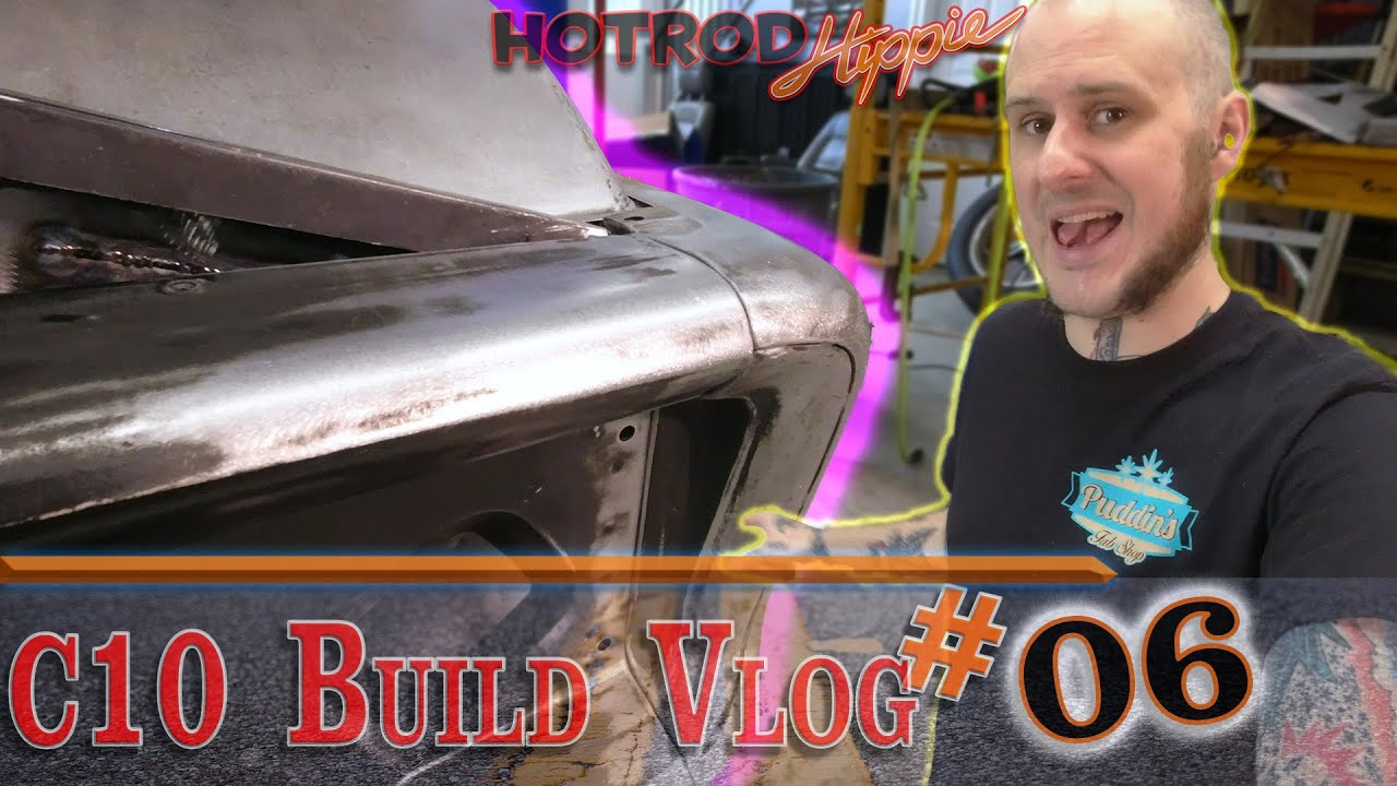 Fitting Reproduction Body Panels - C10 Build Vlog 06 - Auto Body Surgery