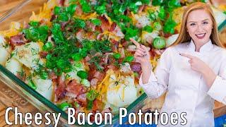 EPIC Loaded Bacon and Garlic Potatoes