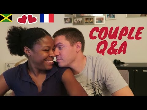 INTERRACIAL COUPLE Q&A | RACISM IN FRANCE | BABY #2 | WHAT WE DO FOR A LIVING