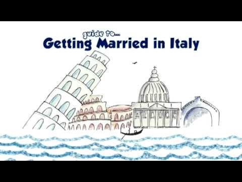 Getting married in Italy: two UK nationals