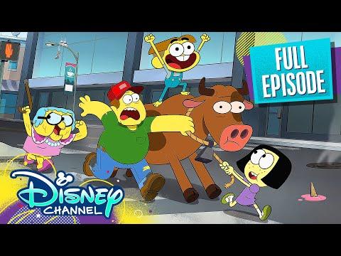 Space Chicken / Steak Night 🐔 | Full Episode | Big City Greens | Disney Channel