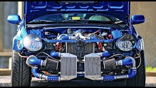 BIG TURBO Engines Sound of SUBARU WRX STI