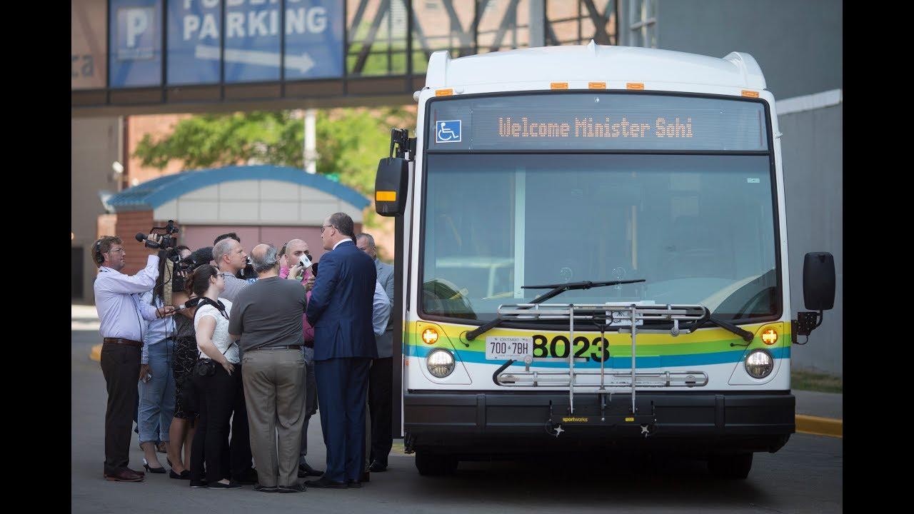 New Buses for Transit Windsor