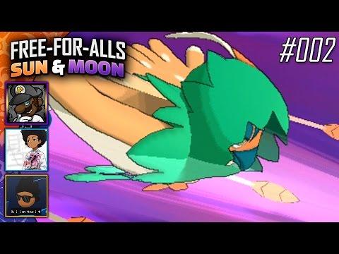 Pokémon Sun & Moon FFAs #002 Feat. PKSparkxx, SacredFireNegro & Twit!