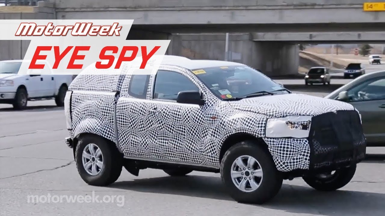 2020 ford bronco spied