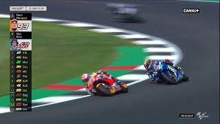 L'Incroyable final entre Marquez et Rins - GP de Grande Bretagne