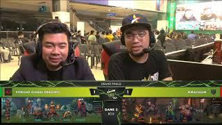 Miraculum vs SG Dragon |Game 3 Best of 3|Dota2 Grand Finals|Thunder Esports Tour Grand Finals
