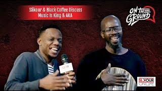 "Black Coffee Speaks On AKA Being On The ""Music Is King"" Line-Up"