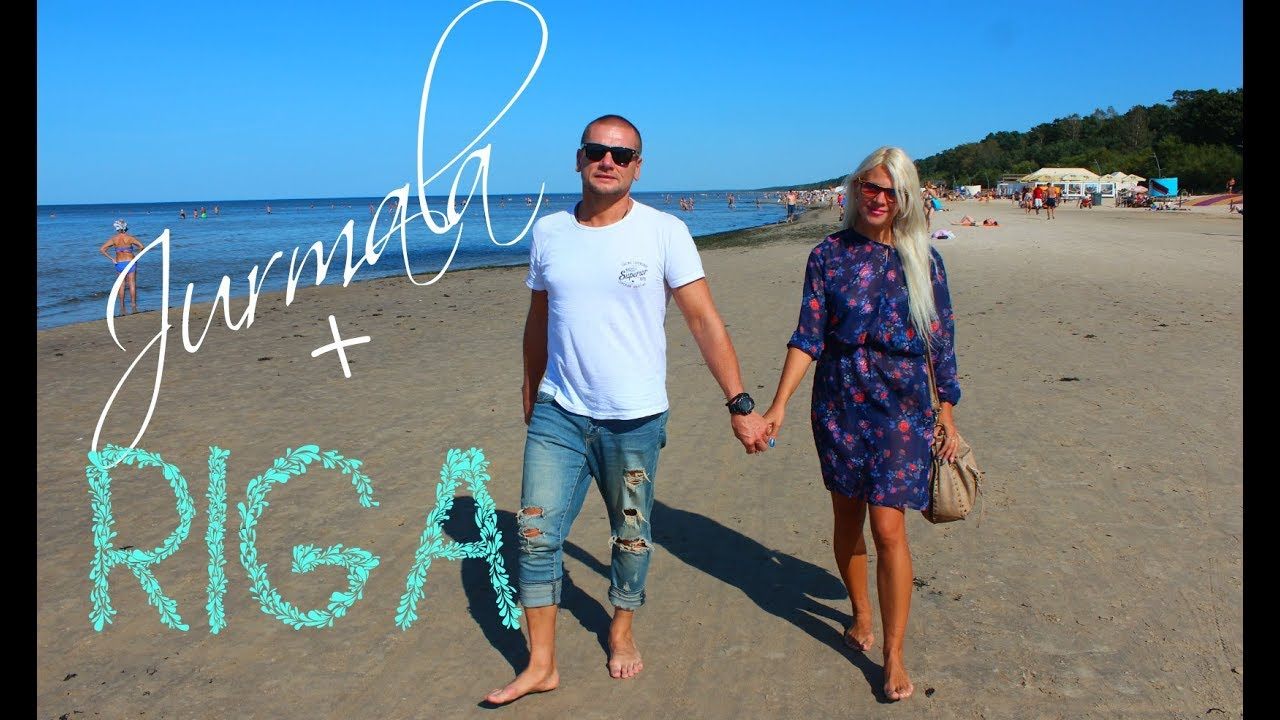 ЛАТВИЯ : РИГА , Пляжи Юрмалы