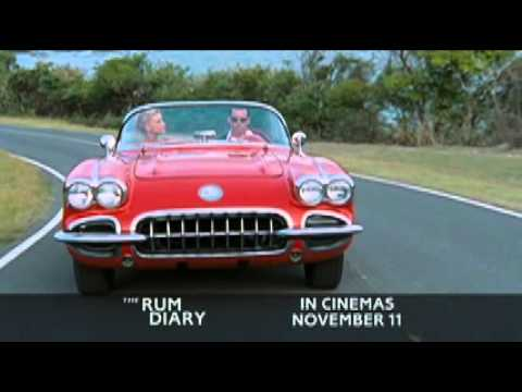 "The Rum Diary - 60"" TV spot - In UK Cinemas November 11th"