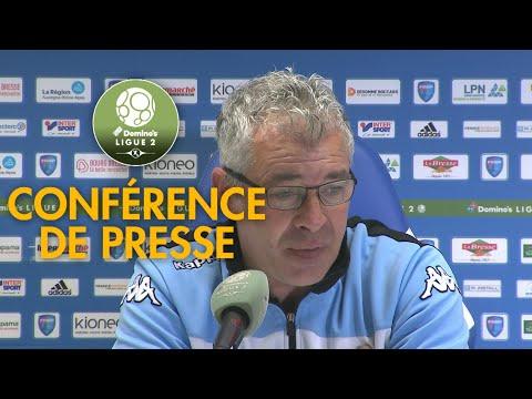 Conférence de presse FBBP 01 - Tours FC ( 1-1 )  / 2017-18