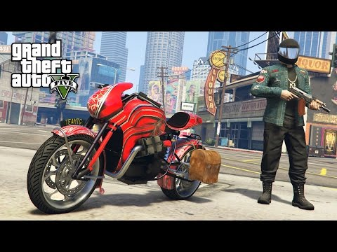 "NEW ""PEGASSI FCR 1000 CUSTOM"" MOTORCYCLE!! (GTA 5 Online DLC Update)"