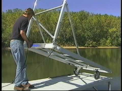 Eagle River Wisconsin Boat Dock Sales Service Boat Storage