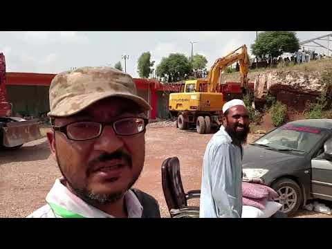 Anti-encroachment drive: CDA operation along Kashmir Highway Sector G-12 by eplus92