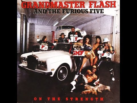 Grandmaster Flash & The Furious FiveOn The Strength Album 1988