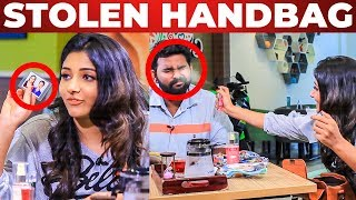 Stolen Things Inside Aditi Menon's Handbag | What's Inside the Handbag | Fun Chat with VJ Ashiq