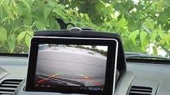 Wifi Android Rearview Car Cam Rückfahrkamera mit Tablet über Wlan
