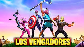 NEW THANOS AVENGERS AND SKIN EVENT in FORTNITE (MARVEL: ENDGAME)