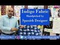 Indigo Fabric - Handpicked By Spanish Designer
