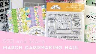March Cardmaking Haul