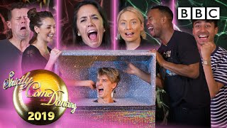 Joe Sugg surprises Halloween's scary box Challenge!  - BBC Strictly 2019