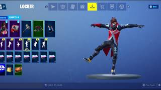 Fortnite emotes with ether skin