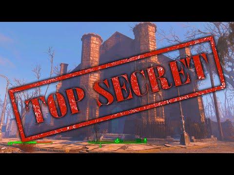 Fallout 4 Secret Location - Secret & Hidden Museum of Witchcraft Room! (Fallout 4 Secrets)