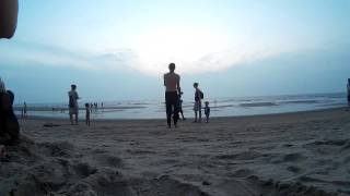 Индия Гоа пляж Арамболь закат