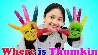 Where Is Thumbkin ? SuperHero Kids Nursery rhymes & Kid Song