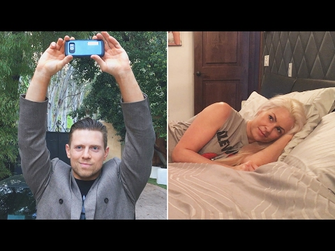 "The Miz sends a special Valentine message to Maryse in a ""Say Anything"" parody: Feb. 14, 2017"