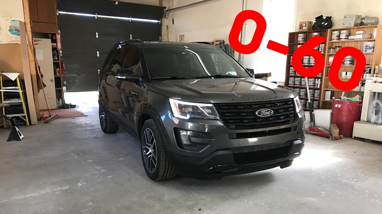 2016 Explorer Sport 0 60 Before And After Tune