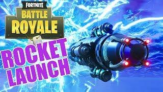 Fortnite Rocket Launch - Cinematic - Fortnite Battle Royale - Xbox One X