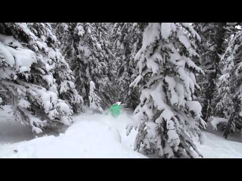 117cm of Snow in 7 Days - Family Week 2014