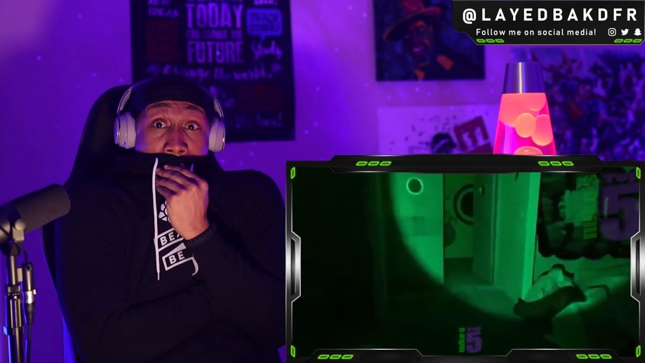 5 Ghost Videos That Are SCARY As... FUDGE !!! ( Nuke's Top 5 ) [REACTION!!!]