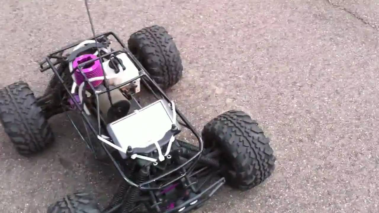 Hpi Savage X Top Speed Run Stock With Roll Cage 8 21