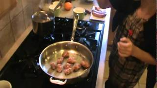 Italian Sausage Dish With White Beans Ans Peppers Part 1