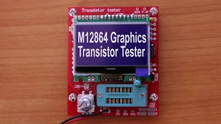 M12864 Graphics Transistor Tester from Banggood, Part 2: Review