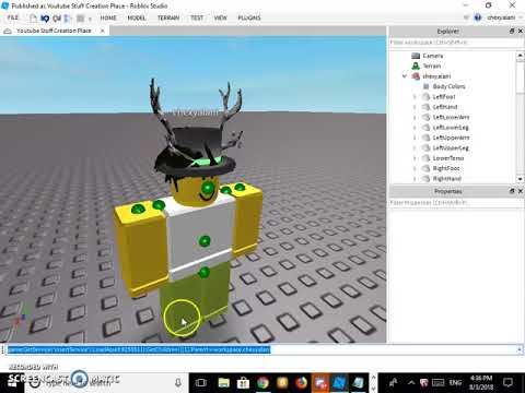 Roblox Game Development | Overriding Character Appearance