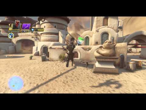 Jabbas Box & Podracer Parts - Twilight of the Republic Playset - Disney Infinity 3.0 Star Wars