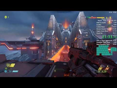 Doom Eternal Speedrun In 37:42
