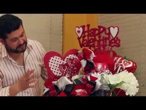Manualidades san valentin regalo centro de mesa st - San valentin regalos ...
