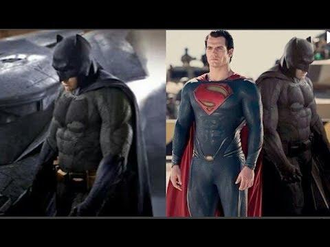 Batman Vs Superman Batsuit Revealed