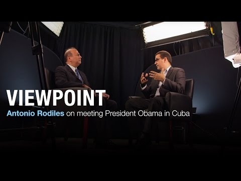 Cuban opposition leader on meeting Obama in Havana | VIEWPOINT