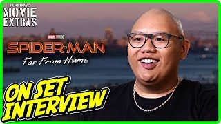 "SPIDER-MAN: FAR FROM HOME | Jacob Batalon ""Ned"" On-set Interview"
