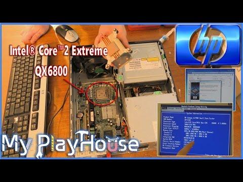 Firmware Updating HP DC 7900SFF - Failing to run QX6800 - 440
