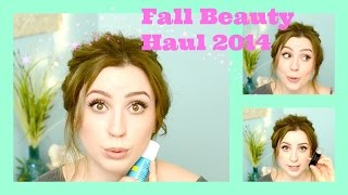 Fall Beauty Haul 2014 | Hey There Bella | Thumbnail